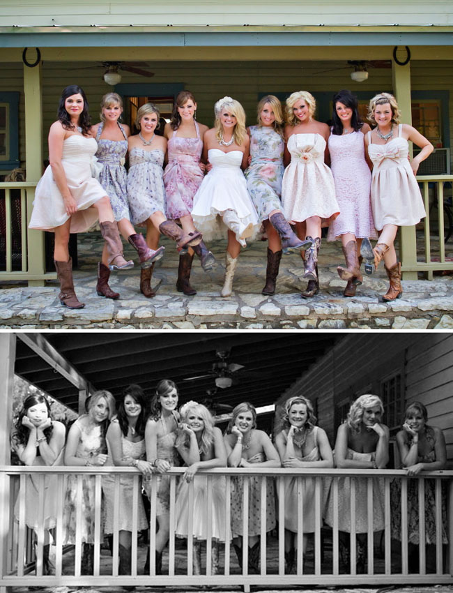 miranda lambert wedding bridesmaids