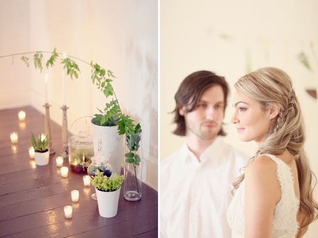 fern wedding inspiration