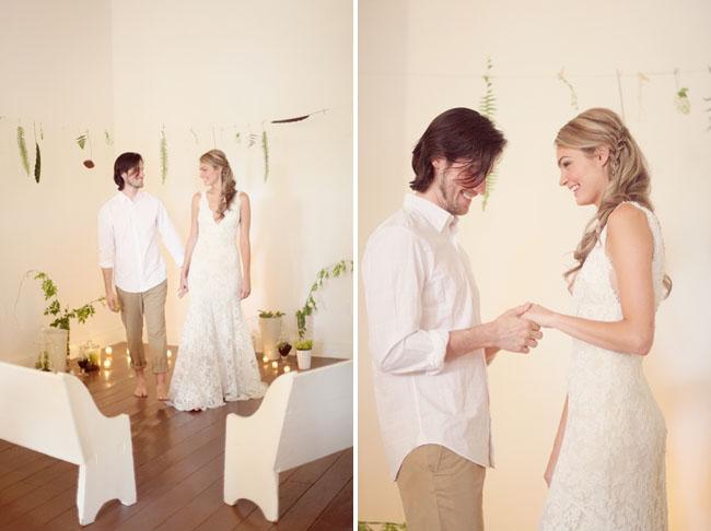Wedding Inspiration from Ferns - Green Wedding Shoes