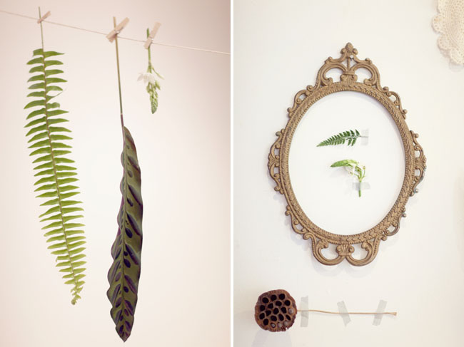 fern wedding ideas
