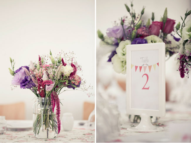 bunting table numbers