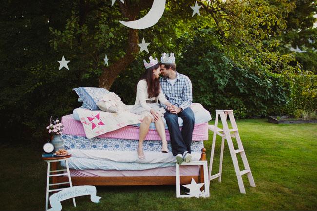 princess and the pea couple