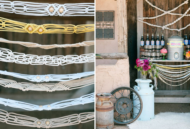 braided rope decor