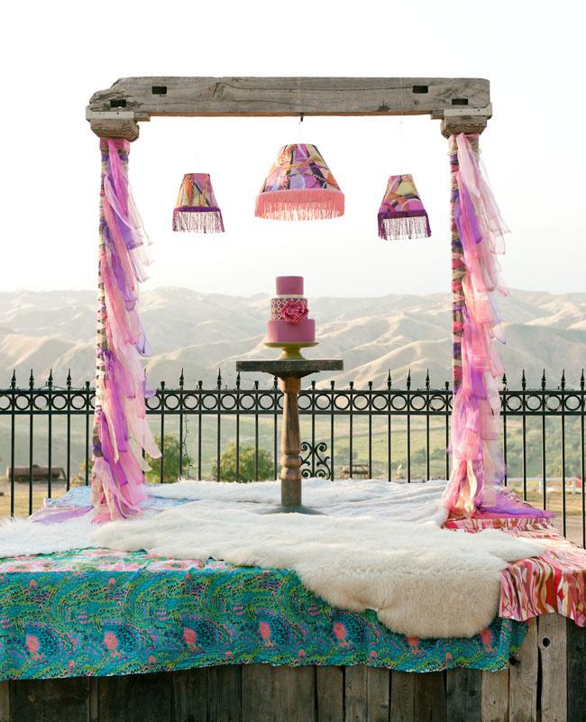 psychedelic altar