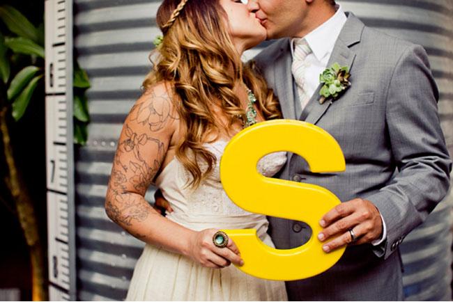 wedding inital