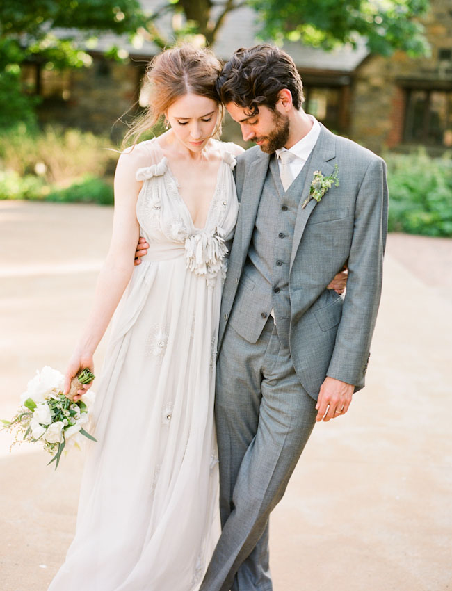 Boho Wedding Dress Nyc : Rustic bohemian new york wedding green shoes weddings