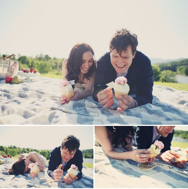 elopement with cupcakes