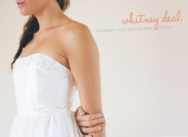 whitney deal wedding dresses