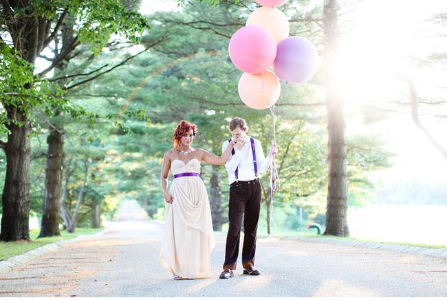 willy wonka styled wedding