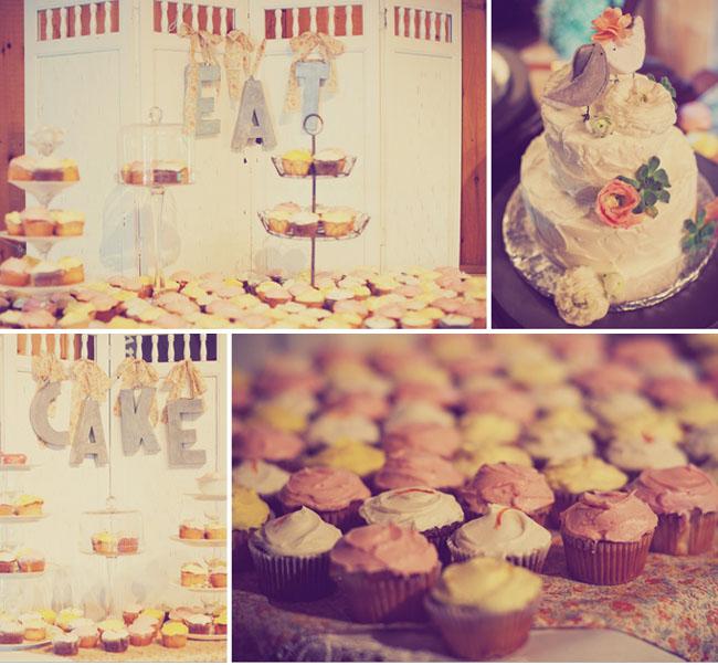 cupcake wedding dessert
