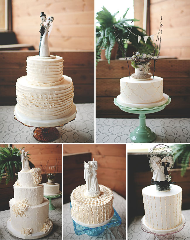 wedding cakes with toppers