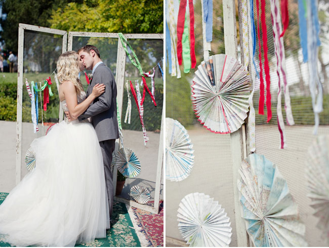 circus wedding ceremony