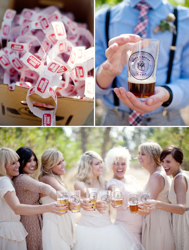beer wedding