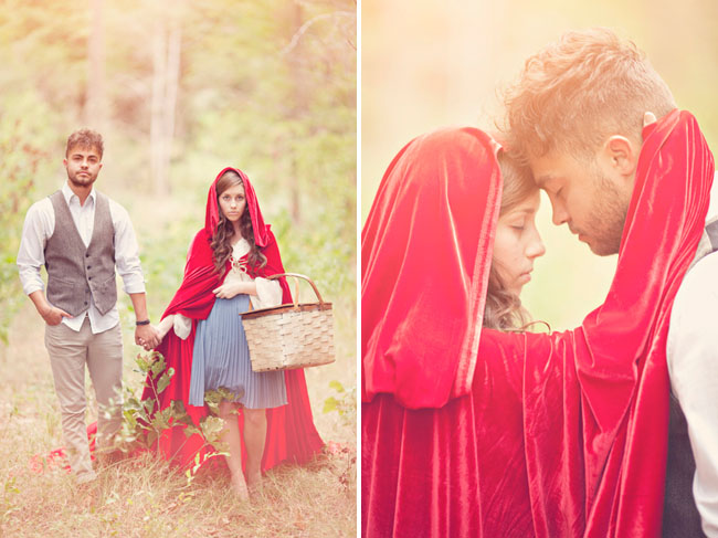 red riding hood inspiration