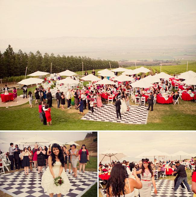 A Rockabilly Wedding Green Wedding Shoes Weddings Fashion