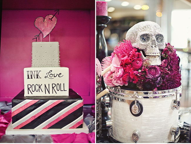 rock and roll cake