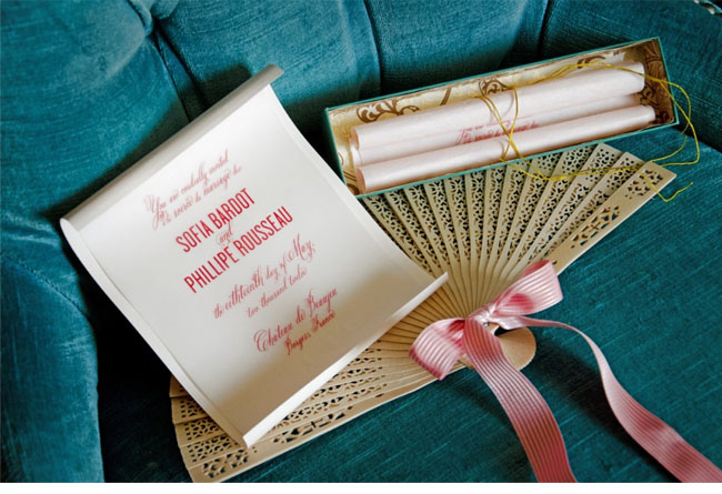 rococo wedding inspiration, pink fan
