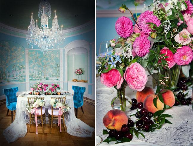 rococo wedding inspiration
