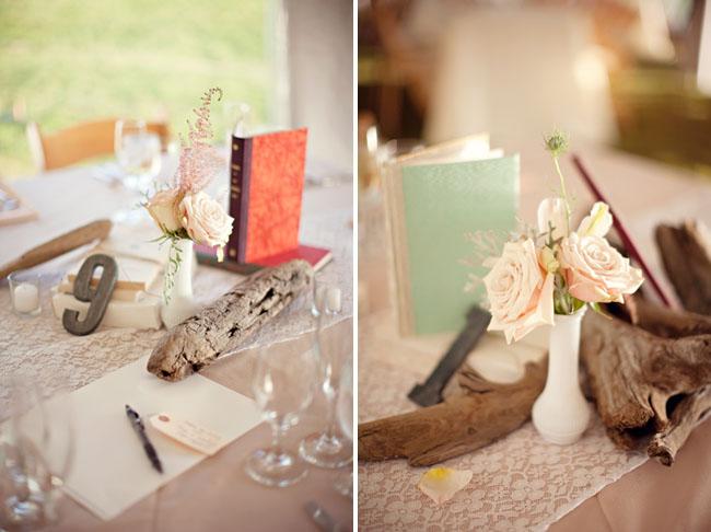 milk glass wedding centerpieces