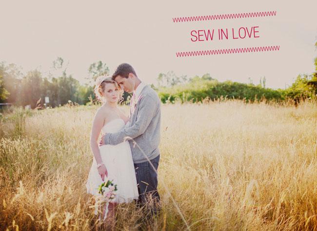 sew in love wedding inspiration