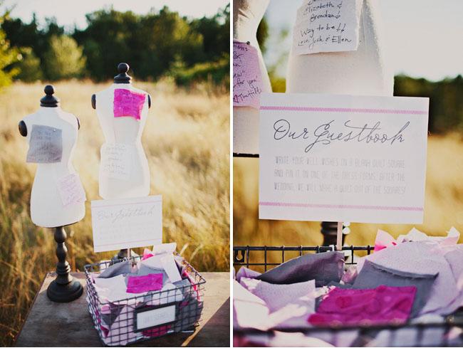 sew in love guestbook