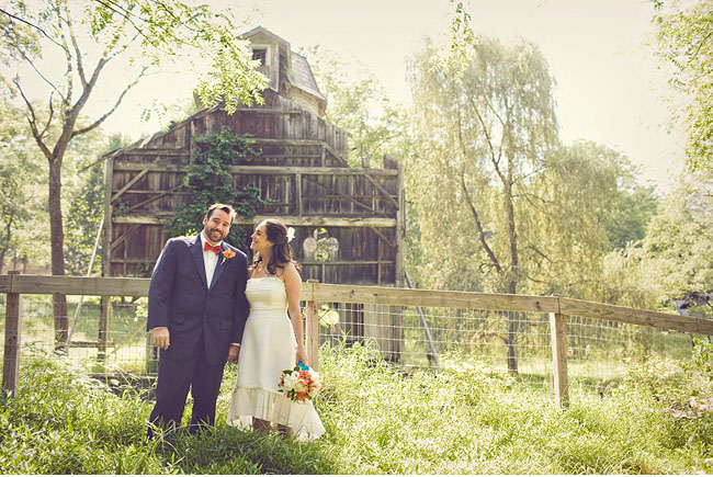 farmhouse wedding