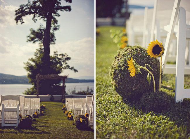 sunflower ceremony