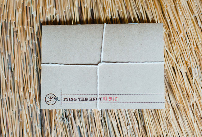 packaged invite