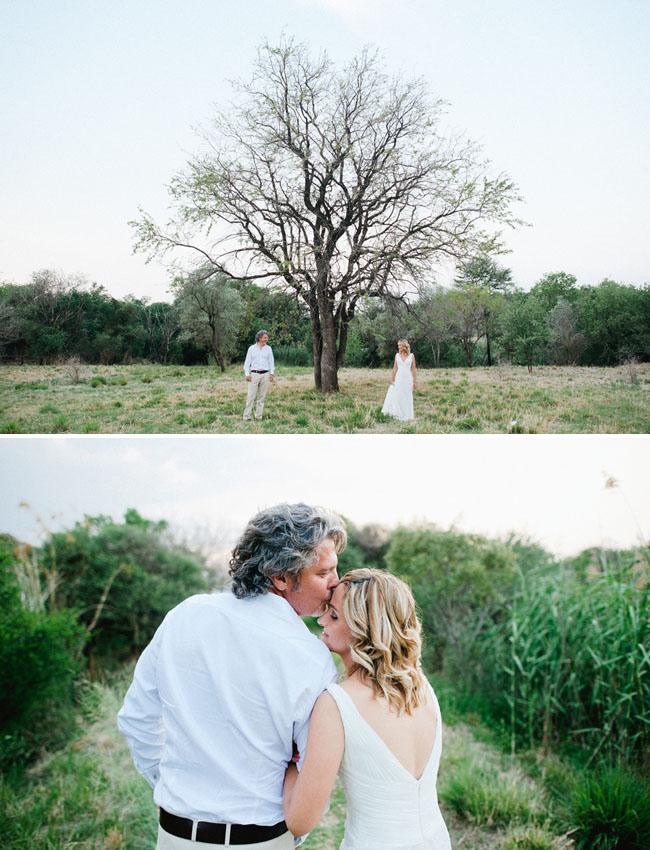 africa wedding, bride and groom