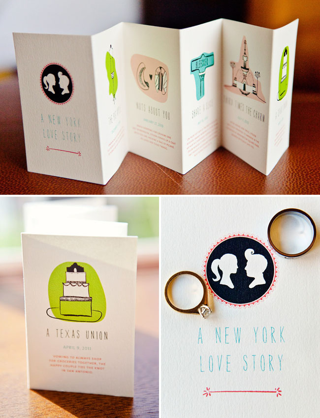 cameo wedding invite
