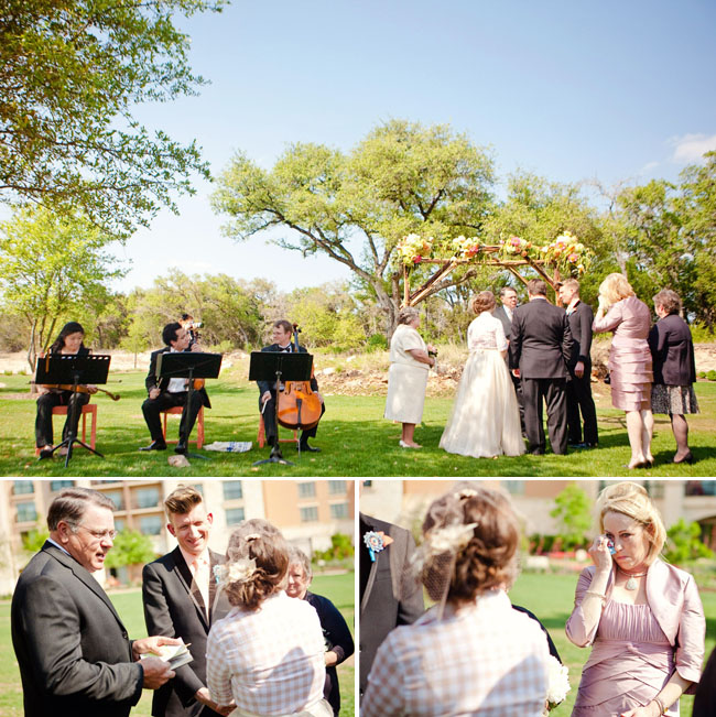 An Intimate Texas Wedding