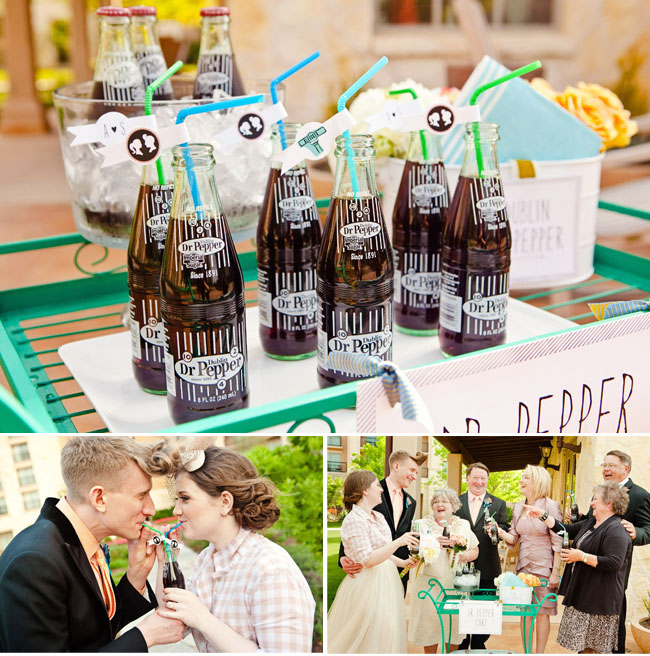 Dr Pepper Drink Cart