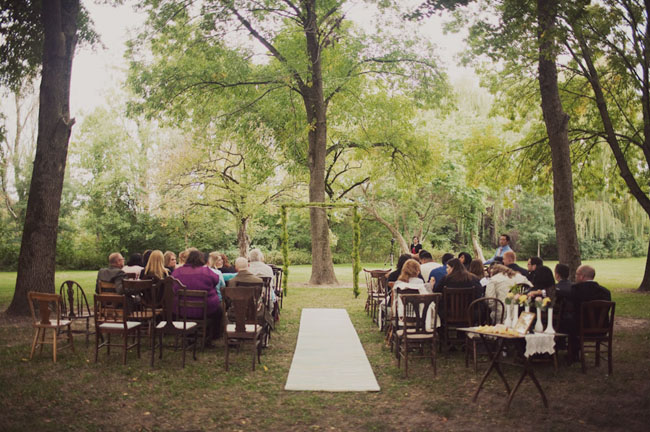 nature preserve ceremony