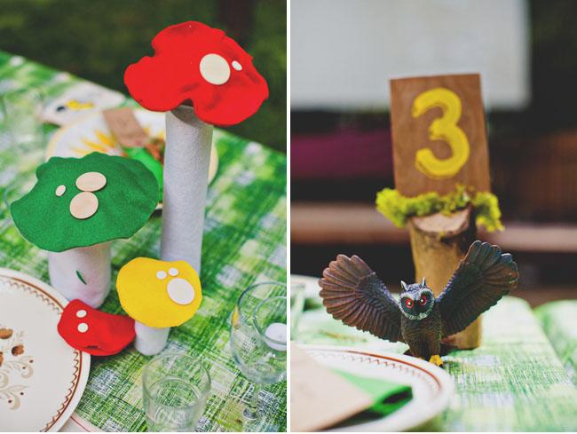 mushroom centerpieces