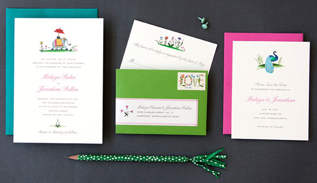 hello lucky wedding invitations