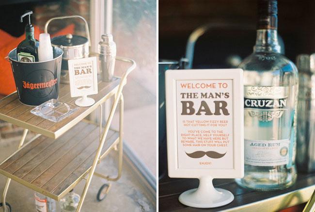 mans bar
