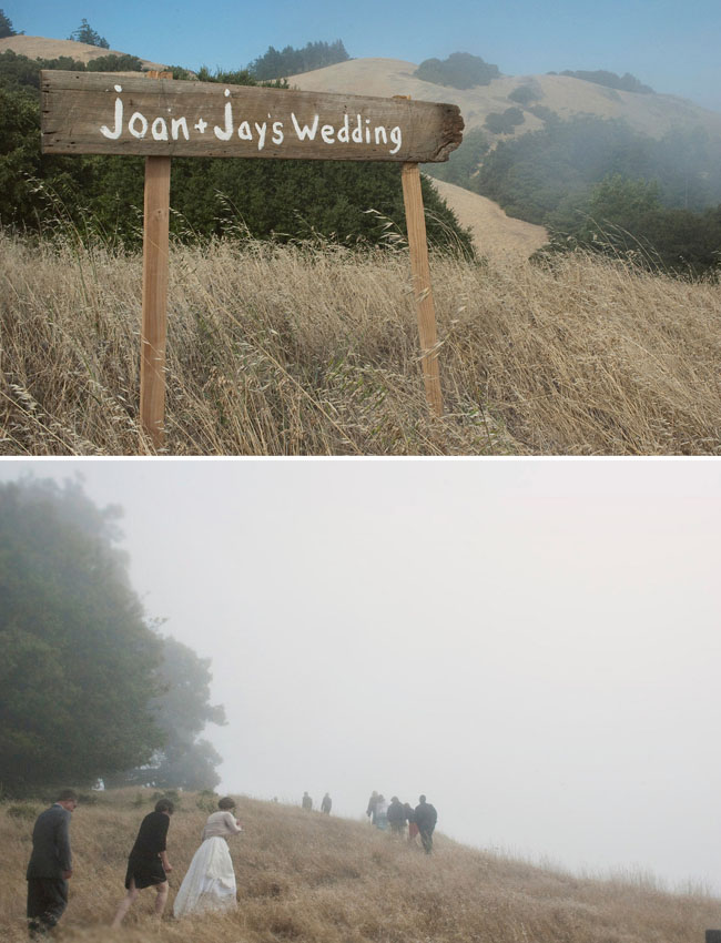 foggy wedding