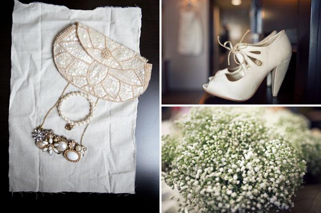 white bootie heels