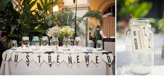 just renewed wedding sign