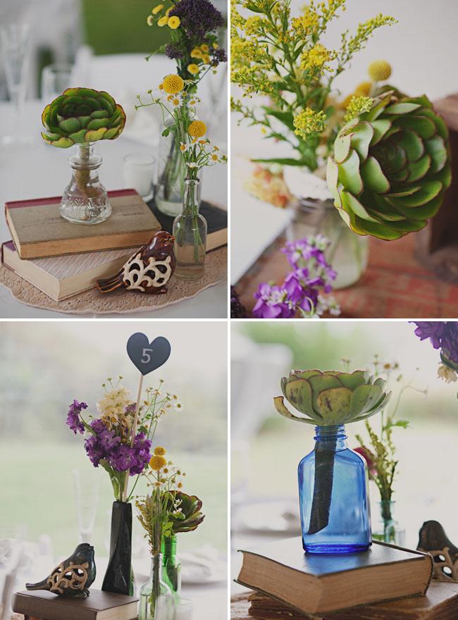succulent flower centerpieces