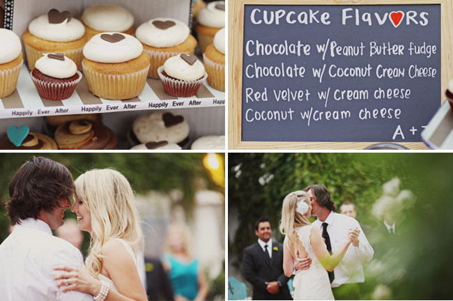 cupcakes, first dance