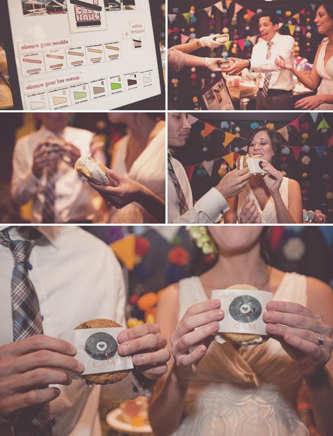 cool haus ice cream truck wedding