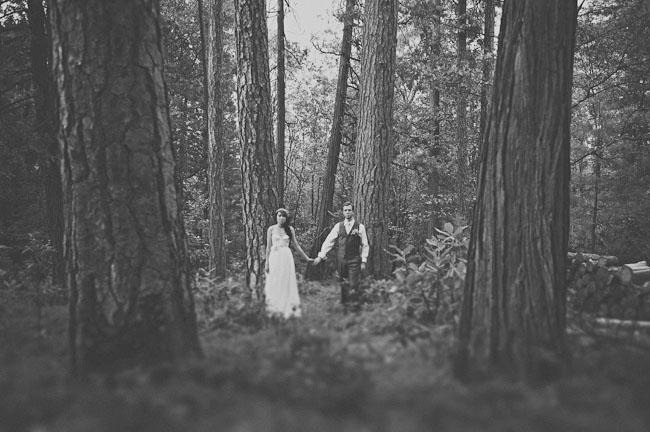 A Handmade Wedding In The Woods Christine Ian