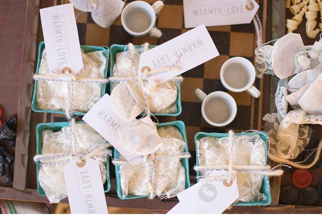 tea package favors