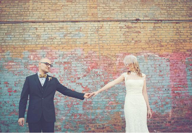 groom in bowtie