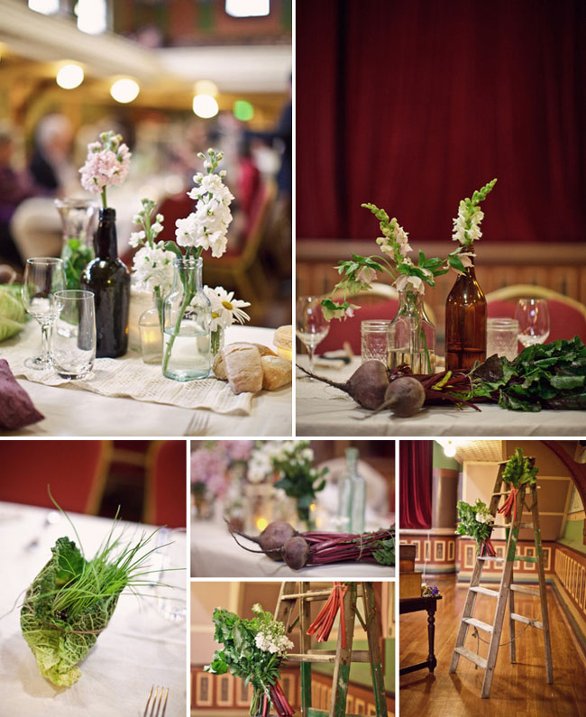 vegetable reception details