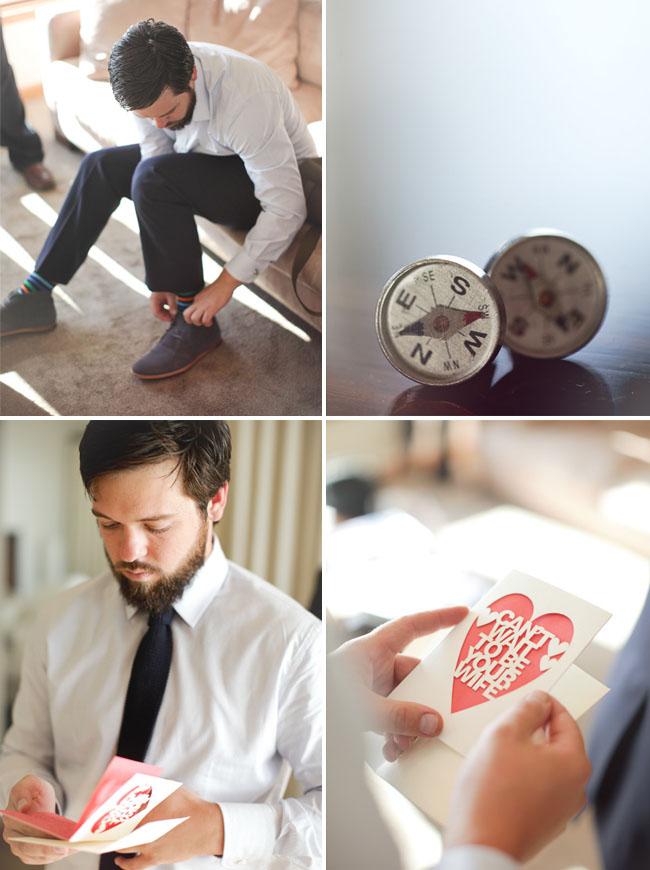 compass cuff links,