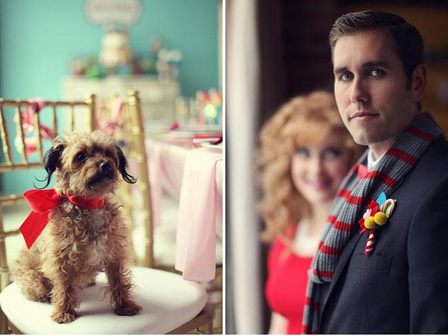 candyland wedding inspiration