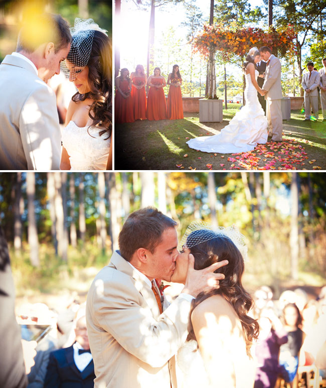 DeAnna Pappas wedding ceremony
