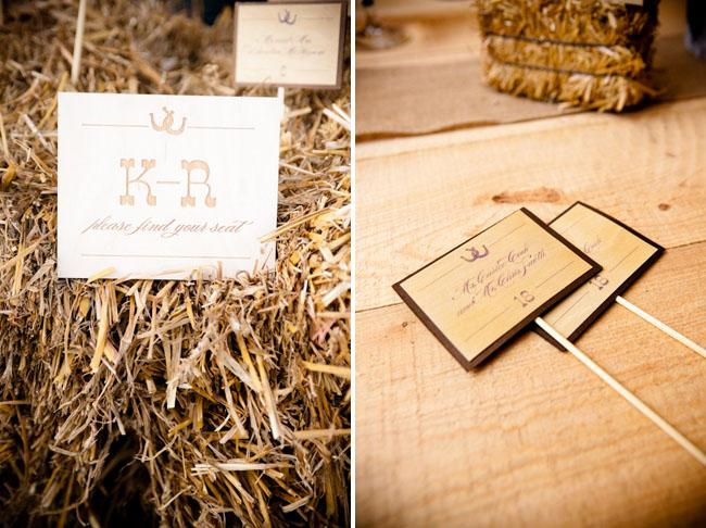 DeAnna Pappas wedding wood signs